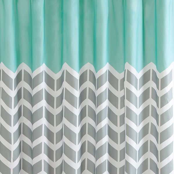 Intelligent Design Laila Printed Shower Curtain 30 Liked On Polyvore Featuring Home Best 25 Teal Curtains Ideas Pinterest Glitter