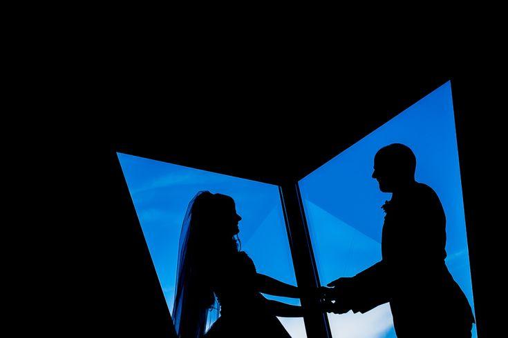 Oana & Horatiu #weddingday #wedding #bride #groom #weddingdress #dastudio #silhouette