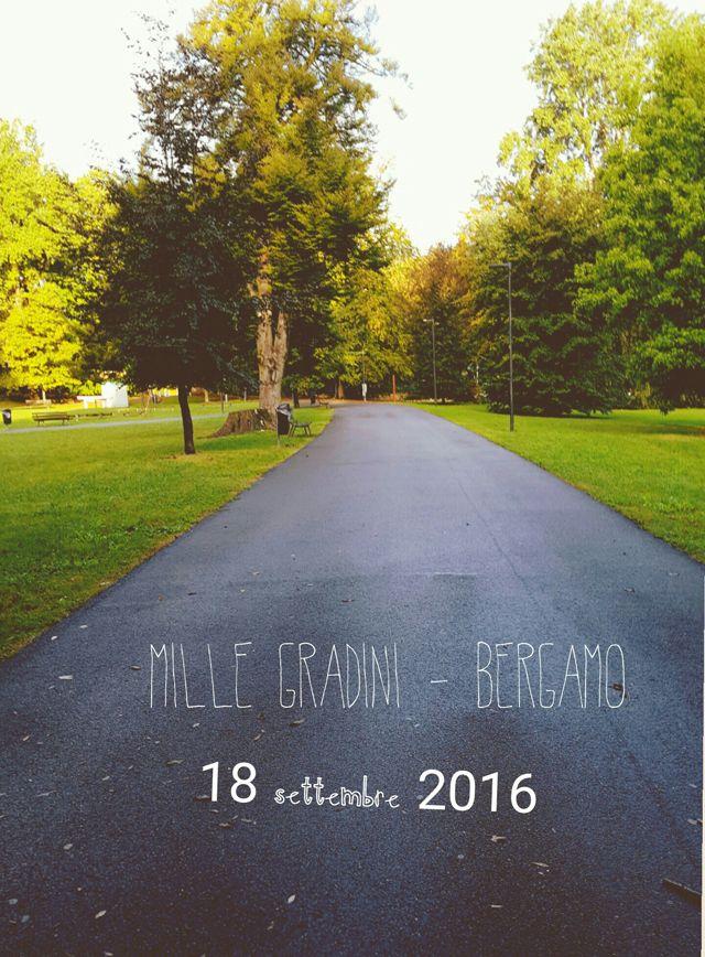 My happy notebook: Mille gradini - scoprire Bergamo