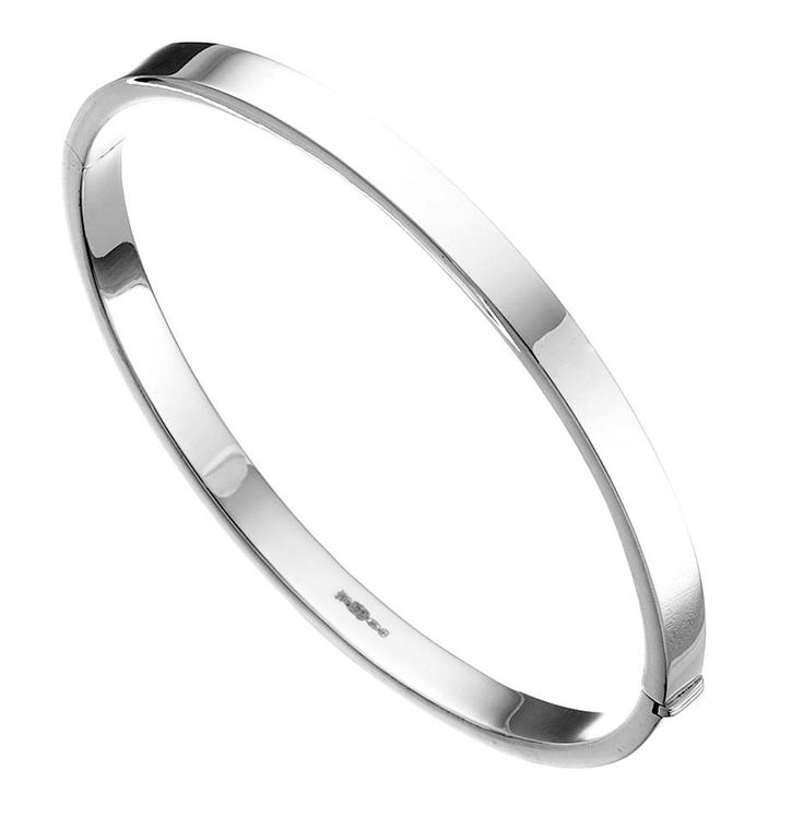 Simple silver bangle #silver #jewellery