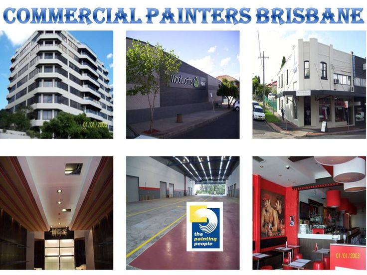 The Painting People provides a full range of Painting, Decorating and Protective Coatings services through specialized divisions. We are specialist Brisbane commercial painting contractors and have painted commercial buildings for client like Kurri Hyrdo, DBT Australia http://www.thepaintingpeople.com.au/