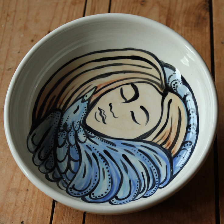 9 best the creative kitchen images on pinterest ceramic for Creative pottery painting ideas