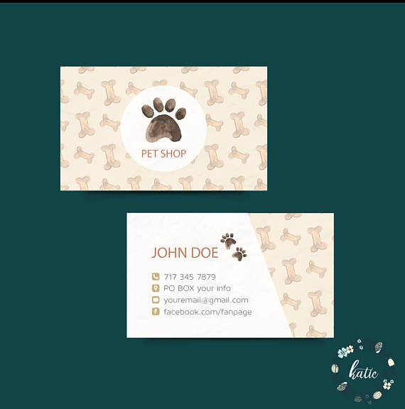 The 57 best custom business card images on pinterest business card custom business card pet shop business card pet store colourmoves
