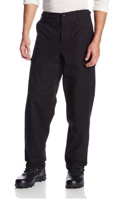Black Tactical Pants Tru-Spec BDU 100% Cotton Ripstop Cargo Combat XL  #TruSpec #BDUCargoPants