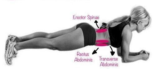 """La famosa """"plancha"""", es uno de los ejercicios isométricos para trabajar el abdomen más efectivo que existen. Así que es un verdadero reto realizarlo. Si deseas unosabdominales definidos en tan solo un mes, únete al reto de """"La plancha"""" conseguiras un vientre espectacula…"""