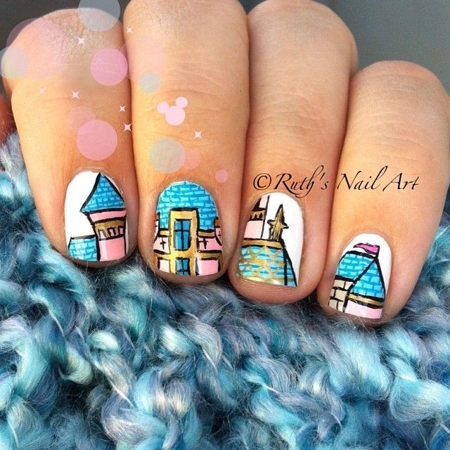 Sleeping Beauty Nails: 1000+ Images About Disney Nails! On Pinterest