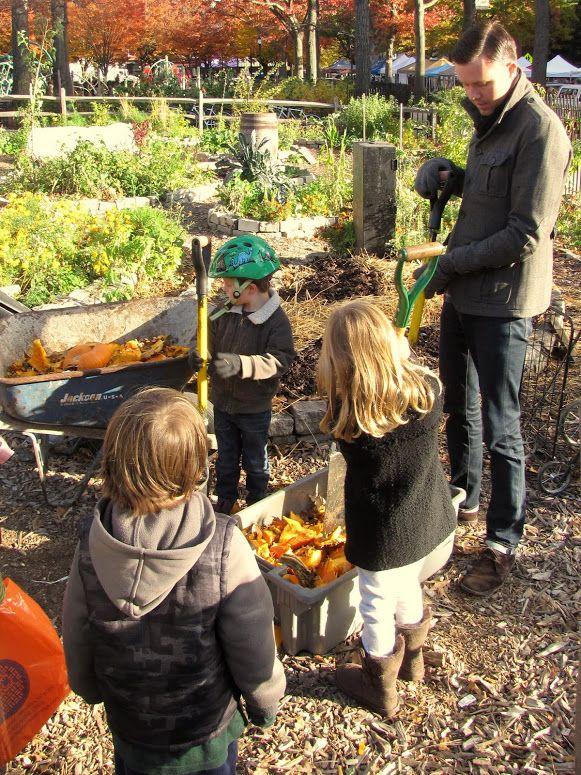 Captivating Photo In OSH Garden Nov 3, 2013