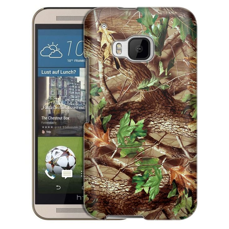 HTC One M9 Real Tree Camouflage Hunter Slim Case