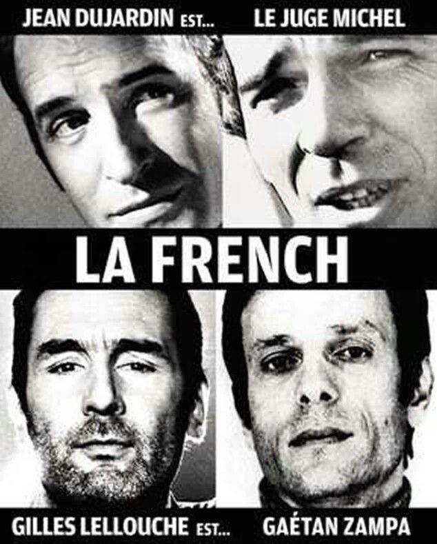 "Dujardin-Lellouche, ""La French"", 2014."