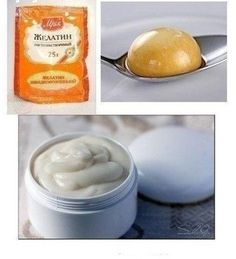 Желатиновая маска для волос (эффект ламинирования):