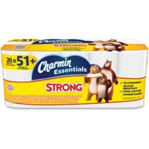 Charmin Essentials Strong 20 Giant Rolls Review Bath Tissue
