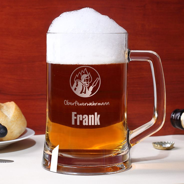 Ein leckeres Bierchen zum Feierabend oder nach einem anstrengenden Einsatz kann kein Feuerwehrmann verwehren. Nicht umsonst ist die Bezeichnung - Brand löschen - doppeldeutig. Und da das kühle Blonde aus dem eigenen Glas noch viel besser schmeckt haben wir hier die ultimative Geschenkidee für Feuerwehrmänner: den 0,5 l Bierseidel mit Gravur eines Feuerwehrmotivs.