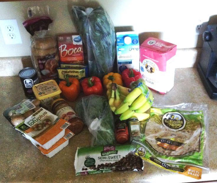 Vegan Grocery Haul Beginning of October 2015 #vegan #groceryhaul #October