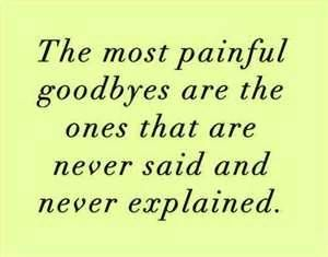 Doing what's best for me. These goodbyes to the ones I love most in a few months are going to be the hardest