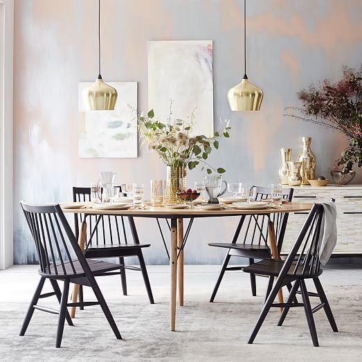 Scissor Spindle Dining Chair | west elm