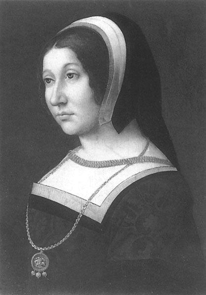 Margaret Tudor, sister of Henry VIII