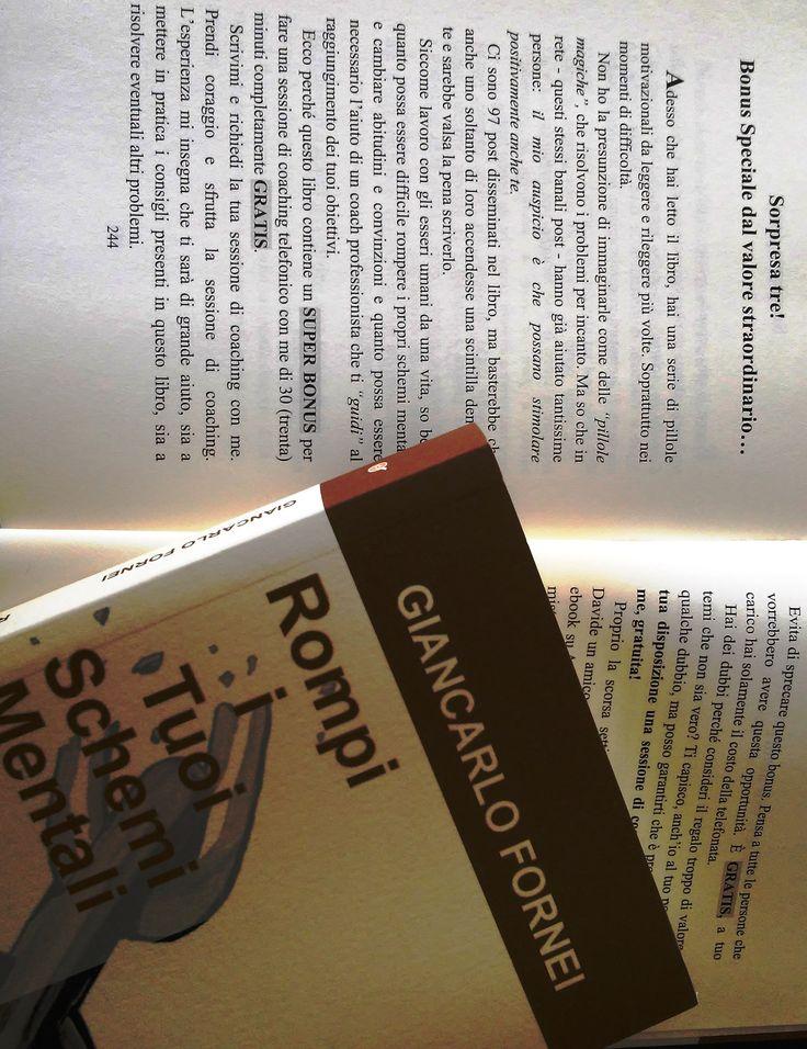 Ma è vero che dentro i libri del coach motivazionale Giancarlo Fornei ci sono delle sessioni di coaching telefoniche in OMAGGIO, da fare personalmente con lui? Sì, è vero.. e possono testimoniarlo tutte le persone che, acquistando i miei libri, hanno già usufruito - GRATUITAMENTE - della sessione... GF