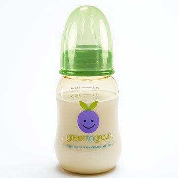 You won't have to worry about Bisphenol-A in your baby's milk when you feed her from one of these bottles or cups.