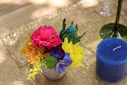 Summer inspired flowers #makeitamomenttoremember