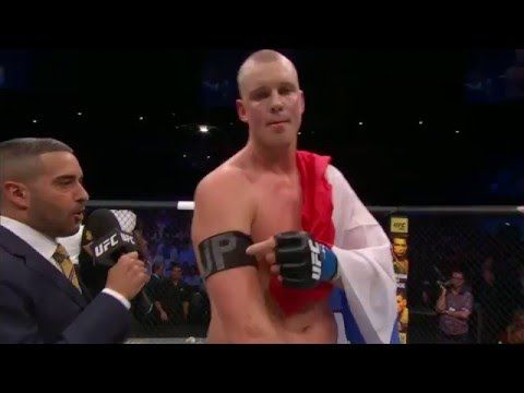 UFC Replay: Stefan Struve Post Fight Interview (Full)
