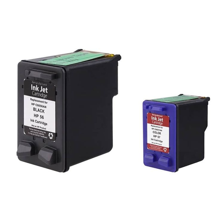 Refurbished Insten Remanufactured Ink Cartridge Replacement for HP C6656A/ 56 #210276