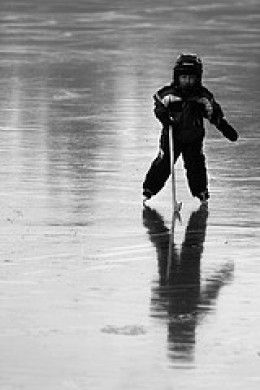 So, since your child's birth, you've been chomping at the bit to nurture the next Mario Lemieux or Peggy Fleming, or perhaps the very first Peggy Lemieux--or maybe you just want to share your interest in ice skating with your little one, but you're not sure where to get started.