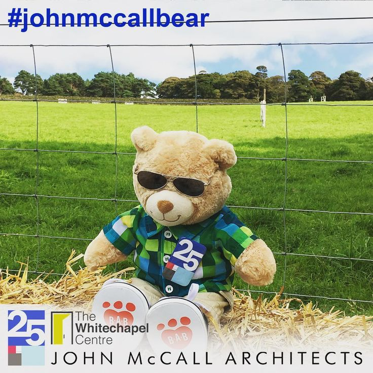 #JohnMcCallBear travels the world for the Whitechapel Centre. Here he is at the Hayfield show.