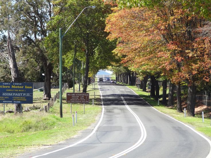 Coming into Tenterfield, NSW