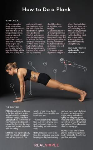 How to Do a Plank | Real Simple