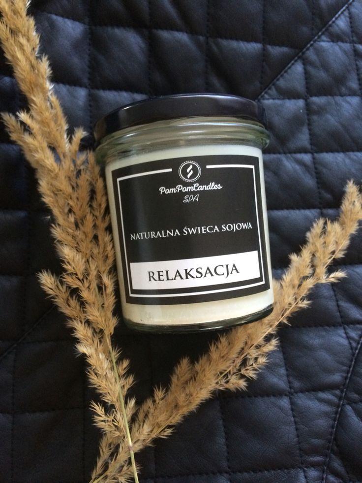 Sojowa świeca do masażu od PomPom Candles