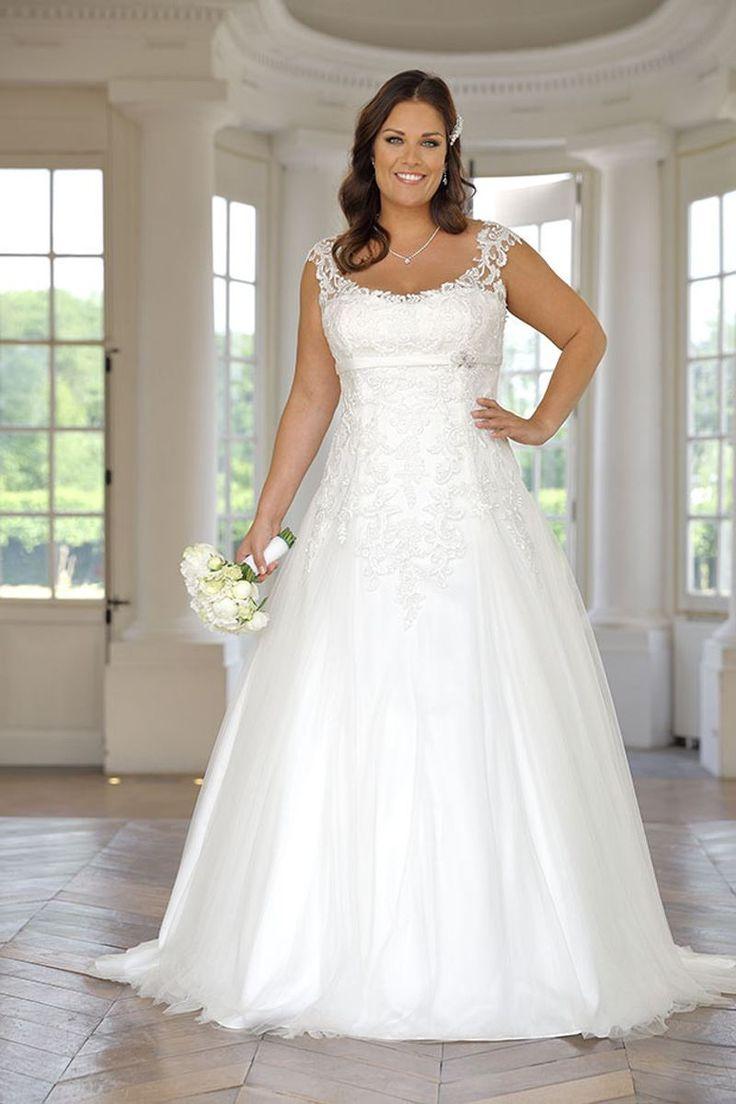 64 best Brautkleider images on Pinterest   Wedding frocks ...