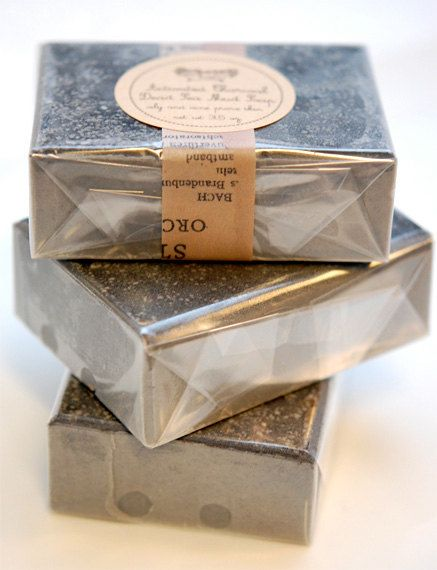 Natural Acne Treatment Bar- Charcoal Soap Bar, With Tea Tree Lavender Dead Sea Mud -Limited Edition. $6.50