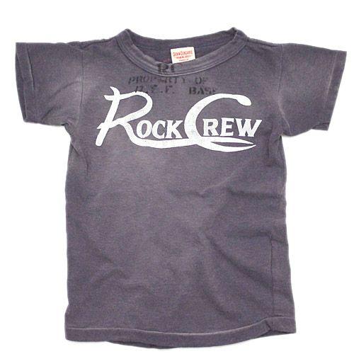 DENIM DUNGAREE(デニム&ダンガリー):ビンテージテンジク ROCK CREW Tシャツ 12PLパープル の通販【ブランド子供服のミリバール】