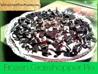 Frozen grasshopper pie