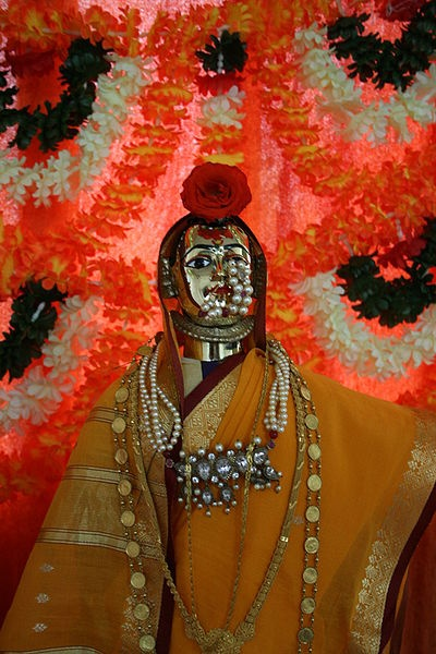 Parvati as Gauri