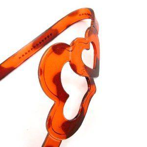 """Flexible headband """"Love"""" amber. Les Tresors de Lily. $8.00"""