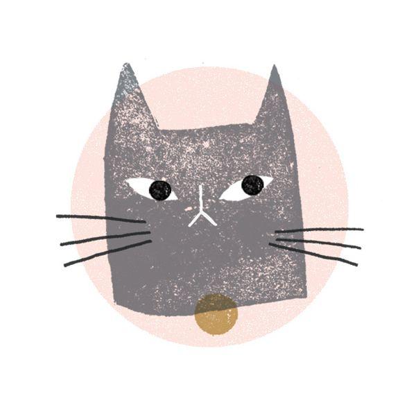 pussy - Clare Owen #cat #illustration