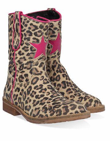 Bruine Hip kinderschoenen H1324 boots