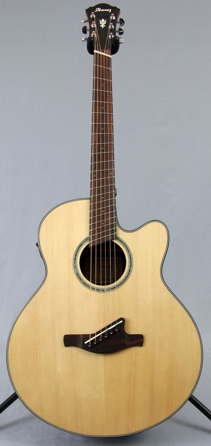 Ibanez AELFF10 Fanned Fret Acoustic Electric Guitar
