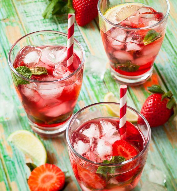 Σπιτικό αναψυκτικό με φράουλες. Δροσιστικό όσο δεν φαντάζεσαι!