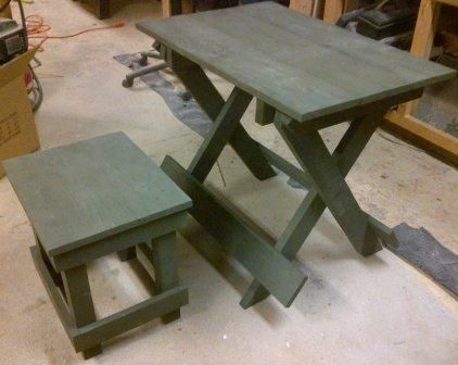 Nord Ost Crates Wwii German Field Table Furniture