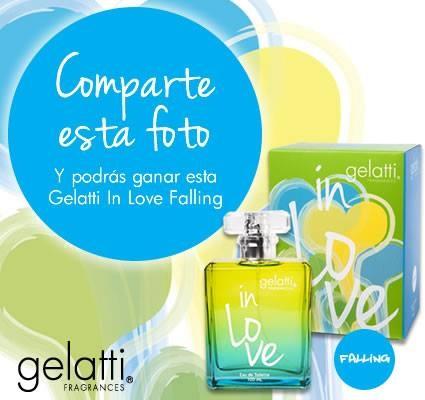 Siempre encontrarán Concursos sorpresas en nuestra Fan Page  CERRADO  ¡GELATTI TIENE UNA SORPRESA PARA SUS FANS! ¡Comparte esta foto y participa por una Gelatti In Love Falling 100ml.!