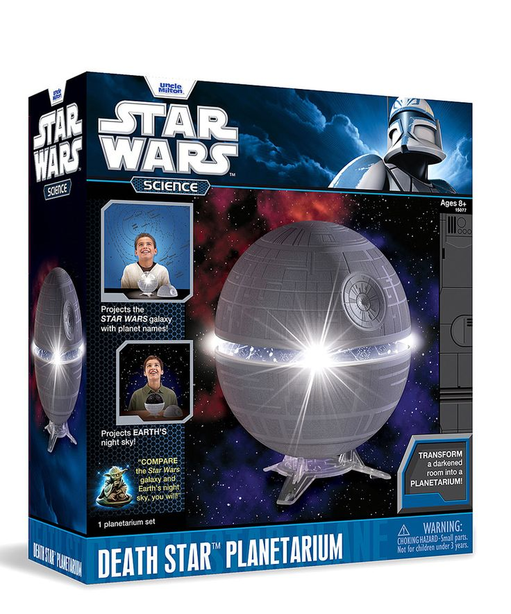 (Christmas Party Games For Kids)Uncle Milton Star Wars Science Death Star  Planetarium
