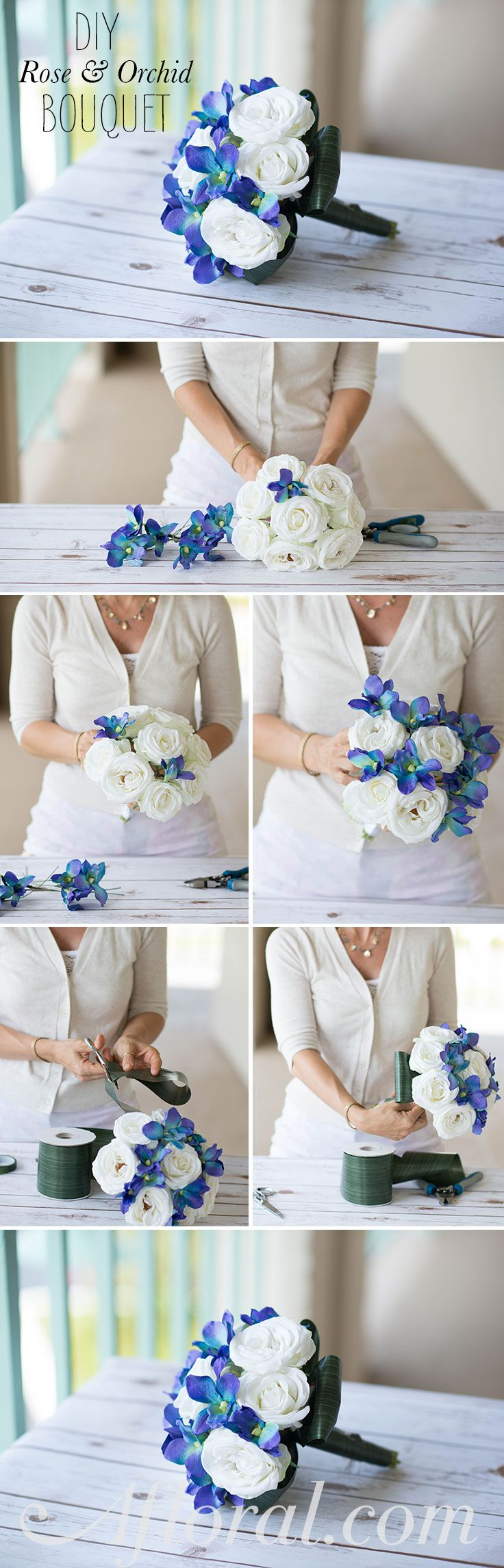 187 best wedding ideas images on pinterest wedding ideas diy bridal bouquet create your own wedding bouquets for less than 40 with premade bouquets junglespirit Choice Image