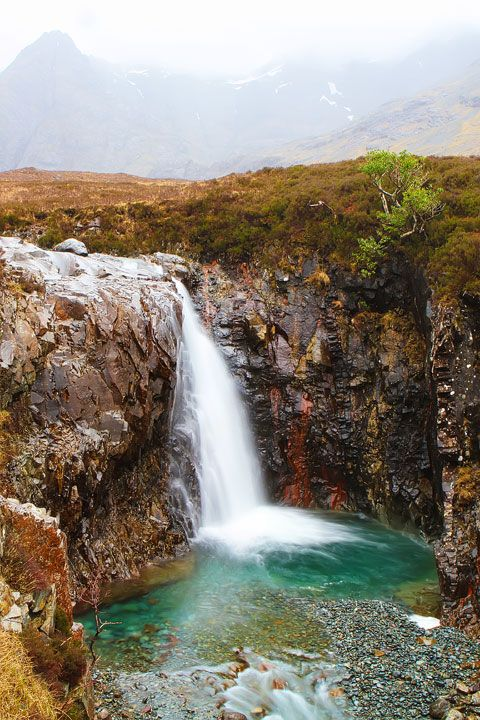Fairy Pools of Scotland. Tips for Traveling to Scotland! What to Do, See, & Eat. www.kevinandamanda.com