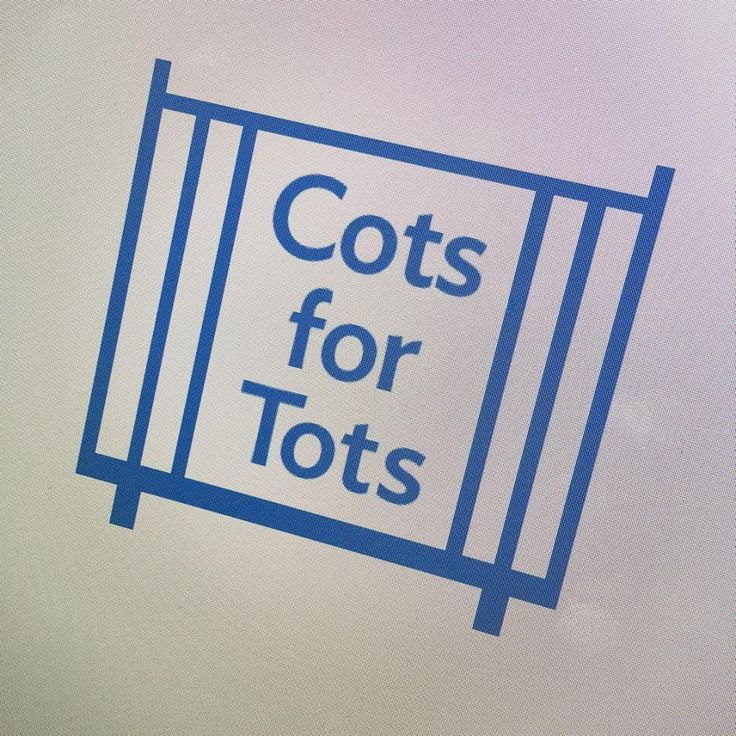 It's that time again! We have launched our annual Cots for Tots appeal. We are setting out to find 500 cots in 60 days!
