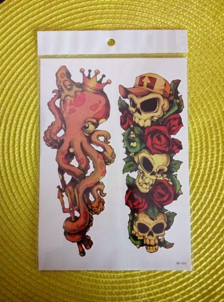 Переводная татуировка - Страшные сказки. 🔥 Самые низкие цены!