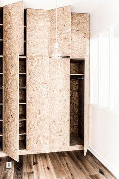 DIY Inspiration | OSB Closet