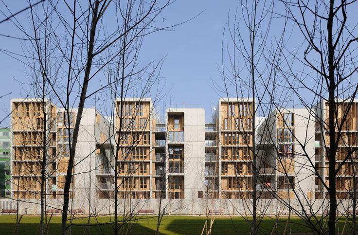 VERTICALITE_CLEMENT VERGELY ARCHITECTES LYON CONFLUENCE 35 logements