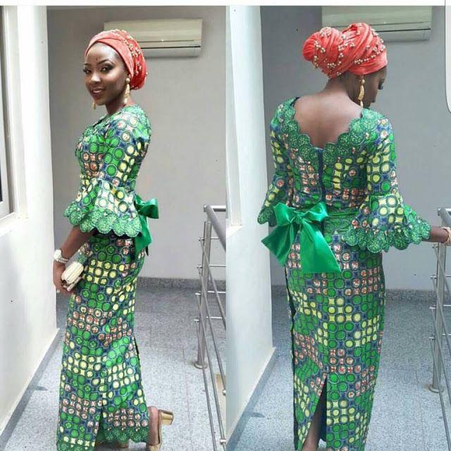 Beautiful Ankara Long Gown Styles for Ladies - DeZango